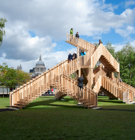 Endless Stair by Arup | Temporary structures