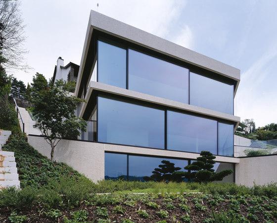 Maison au bord du lac de zurich de air lux reference projects for Modern house zurich