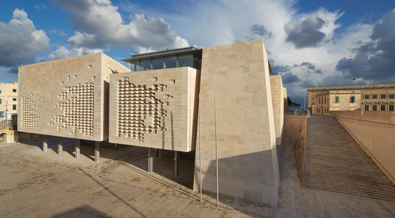 Valletta City Gate - New Parliament by UniFor | Manufacturer references