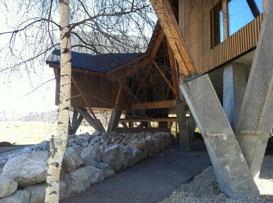 هتل سردسیر ، هتل کوهستانی ، معماری کوهستانی