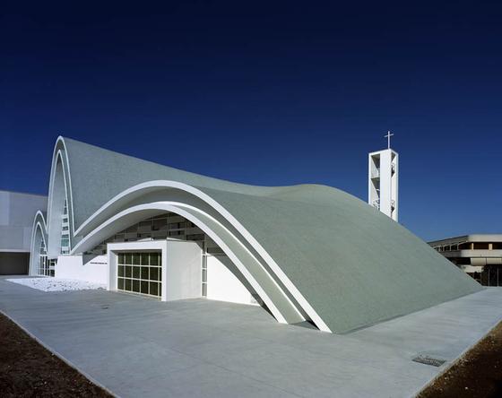 Complesso parrocchiale San Pio da Pietrelcina von Casalgrande Padana | Herstellerreferenzen