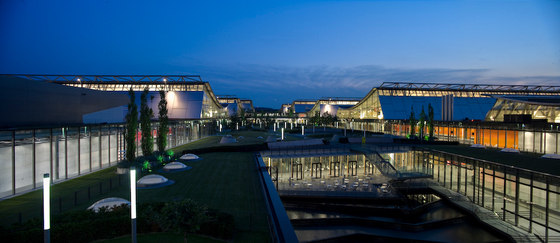 Neue Messe de wulf architekten | Trade fair & exhibition buildings