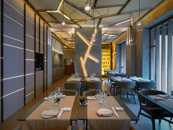 Taiyo sushi restaurant by billiani manufacturer references