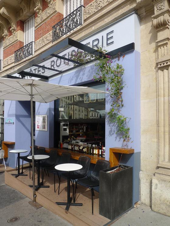 restaurant Jeanne B by CcommeC | Restaurant interiors