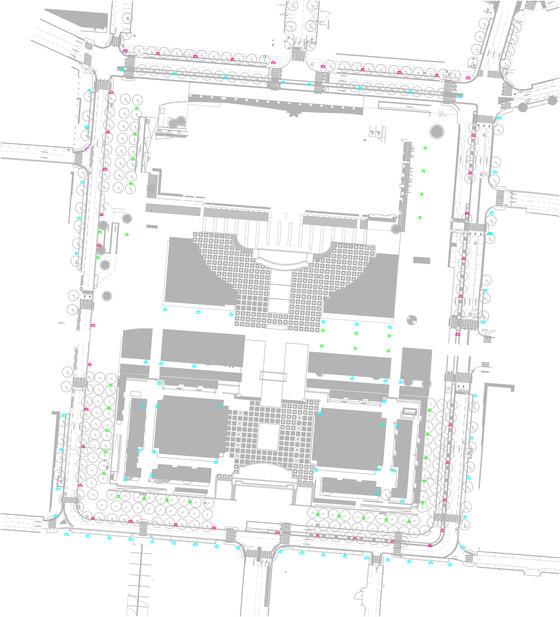 Remodelación del Centro Histórico de Le Havre de Santa & Cole   Manufacturer references