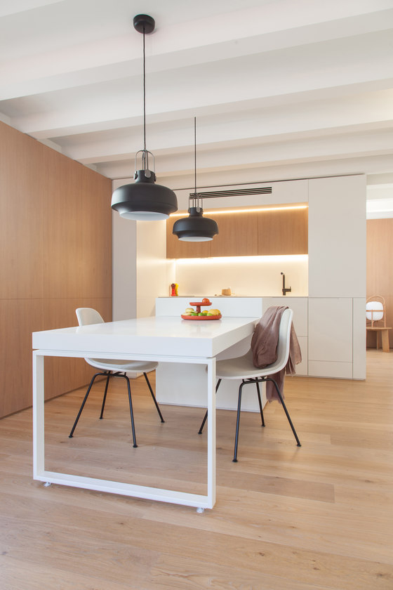Gracia mini apartment by YLAB Arquitectos | Living space