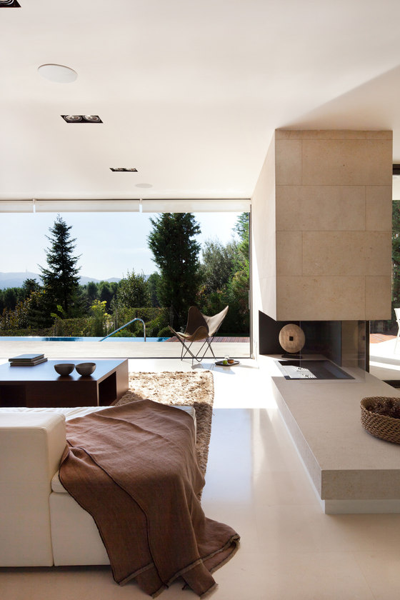 Bellaterra house by YLAB Arquitectos | Living space
