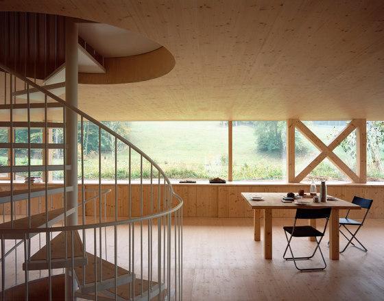Stöckli in Balsthal by Pascal Flammer Architekten | Detached houses