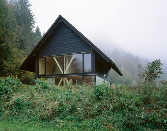 Stöckli in Balsthal by Pascal Flammer Architekten | Detached houses