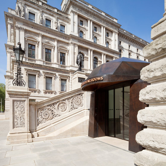 Churchill War Rooms | New Entrance Building de Clash Associates Ltd | Museos
