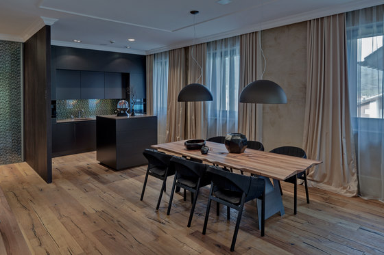 Private Condo The Chedi Andermatt by Harry Hersche | Living space