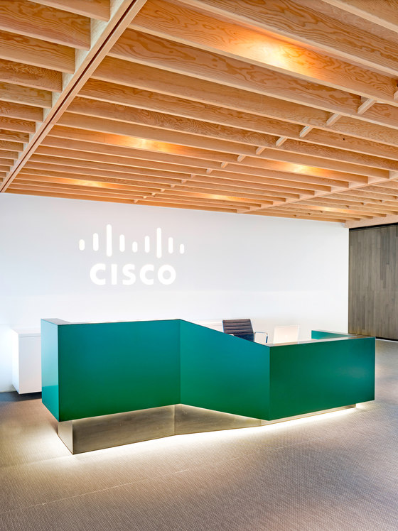 Cisco by o+a | Office facilities