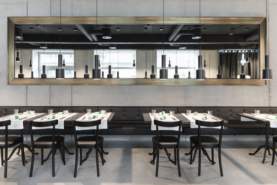 Placid Hotel / Restaurant Buckhuser Zürich by horgenglarus | Manufacturer references