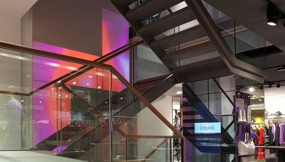 Laurèl flagship store Munich by Large Luminous Surfaces (Signify) | Manufacturer references