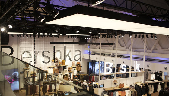Bershka by Luminous Surfaces (Color Kinetics) | Manufacturer references