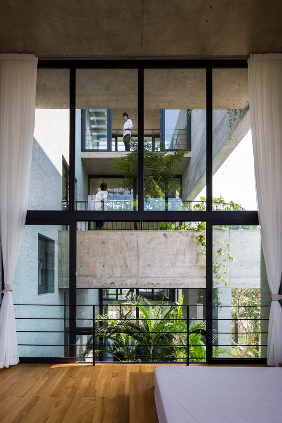 Binh House by Vo Trong Nghia Architects | Detached houses