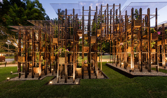 Green Ladder by Vo Trong Nghia Architects | Installations