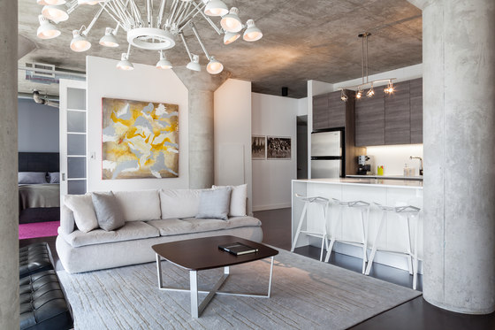 Loft 002 by Rad Design Inc | Living space
