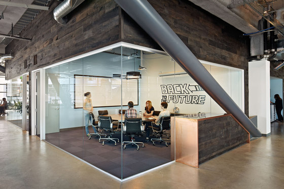 Dropbox by Geremia Design | Office facilities