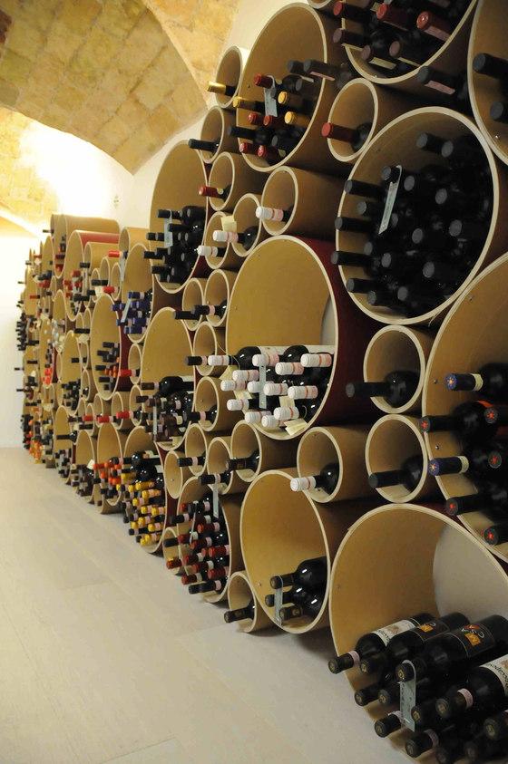 Eco friendly wine rack esigo 8 di esigo reference project for Progetti di edilizia eco friendly