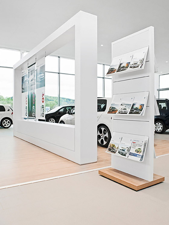Volkswagen Showroom By Pergo Reference Projects