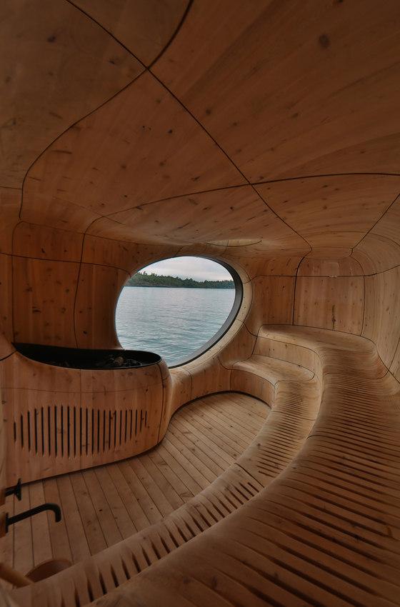 Sauna Project By Artom Bugo At Coroflot Com: Grotto Sauna By PARTISANS