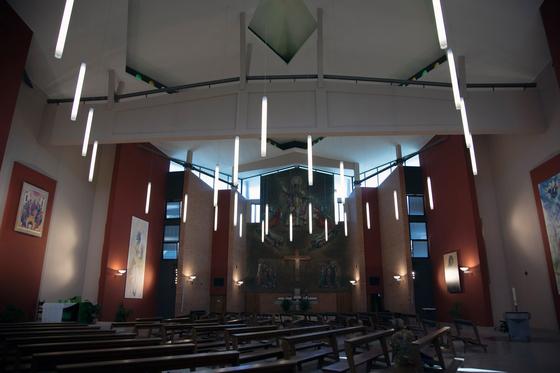 Chiesa San Pio X di martinelli luce   Riferimenti di produttori