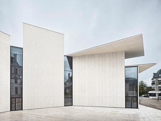 Le Signe / Nationales Grafikzentrum, Chaumont by Forster Profile Systems | Manufacturer references