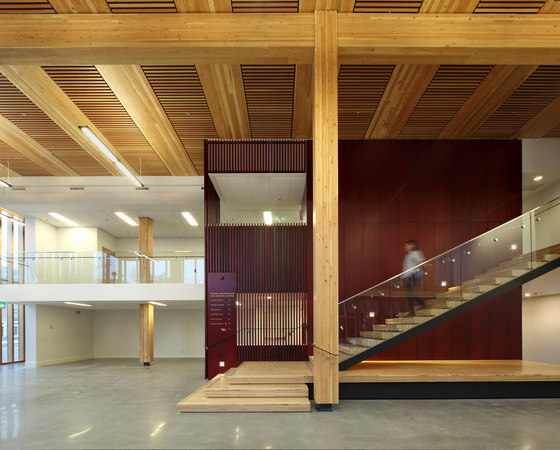Wood Innovation Design Centre By Mga Office Buildings