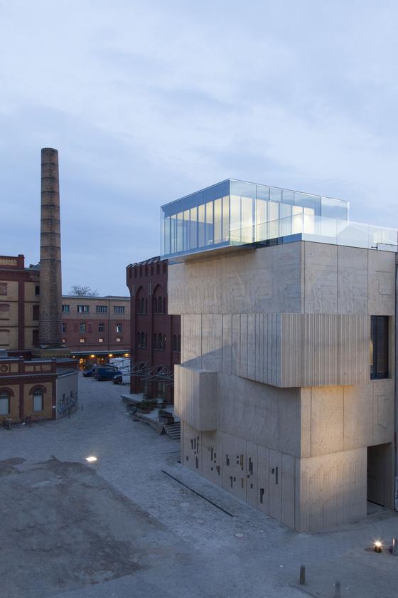 Museum für Architekturzeichnung de Glas Marte   Références des fabricantes