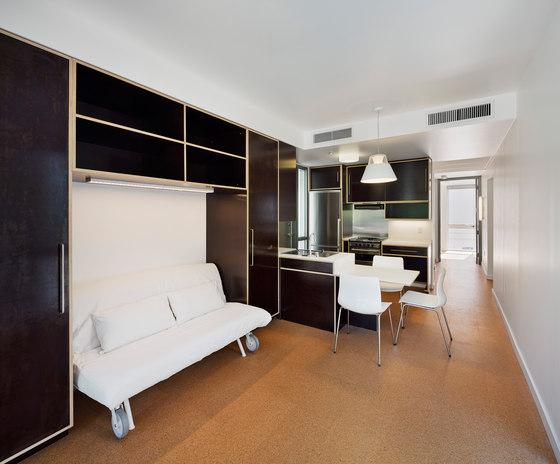Urban Post Disaster Housing Prototype by Garrison Architects | Apartment blocks