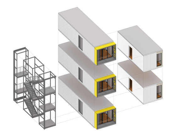 Urban Post Disaster Housing Prototype By Garrison Architects