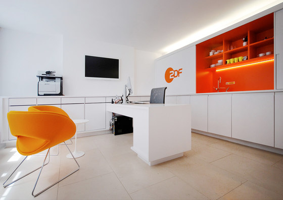 ZDF Broadcasting Studio by UberRaum Architects | Office facilities