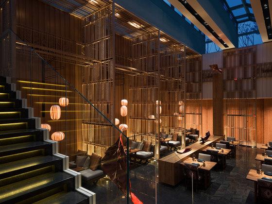 Kioku Restaurant, Four Seasons Hotel by AFSO / André Fu | Restaurant interiors
