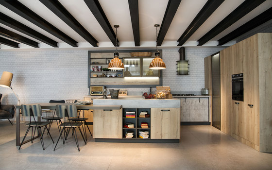 Loft Industrial Living by Snaidero reference projects