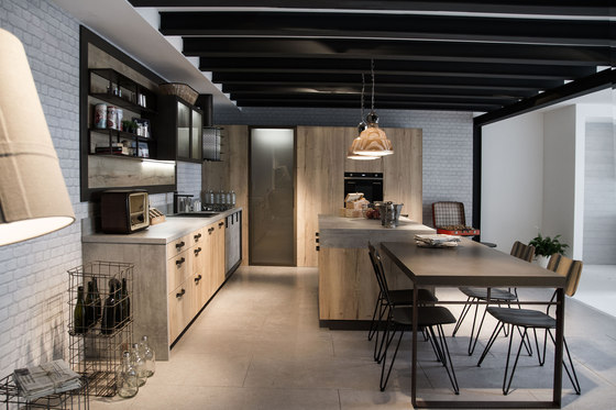 Loft, Industrial Living de Snaidero reference projects Manufacturer ...