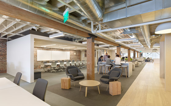 Zendesk San Francisco Headquarters by Blitz | Office facilities