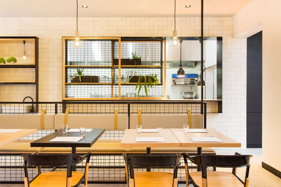Hutch & Co von Biasol | Restaurant-Interieurs