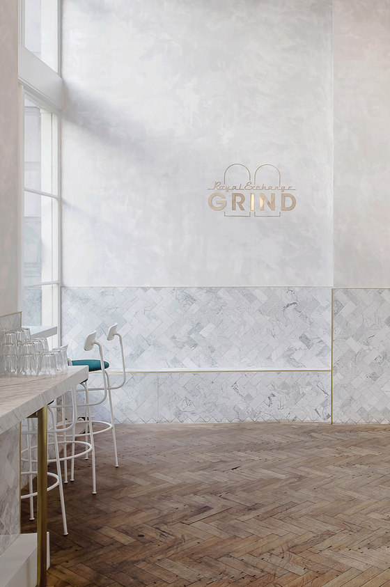 Royal Exchange Grind by Biasol | Café interiors
