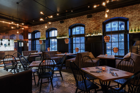 August von Trappe – Belgian Bistro & Bar by Visionary Design Partners Helsinki | Bar interiors