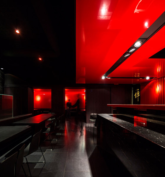 Zen Sushi Restaurant von Carlo Berarducci Architecture | Restaurant-Interieurs