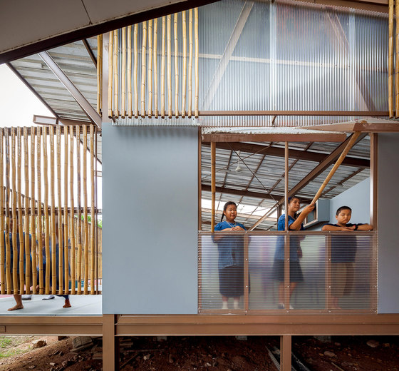 Baan Nong Bua School By JUNSEKINO Architect + Design | Schools