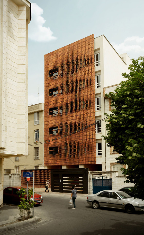 Cloaked in Bricks by Admun Design & Construction Studio | Apartment blocks