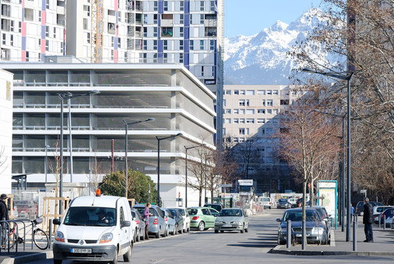 Building in Grenoble by GaP Architectes Infrastructure buildings