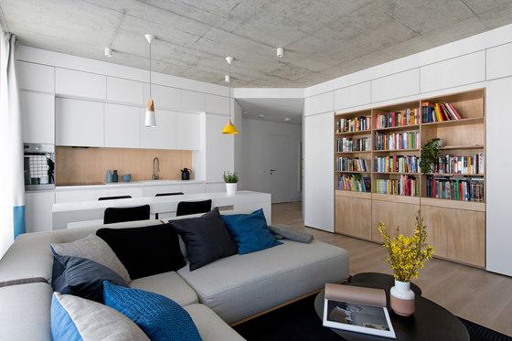 Apartment in Vilnius by Normundas Vilkas | Living space