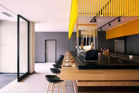 Restaurant kindai by lien tran interior design restaurant interiors