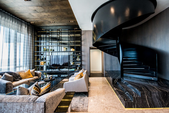 The Fairmont Penthouse by Inhouse   Living space