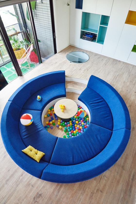 The Lego Play Pond di HAO Design | Locali abitativi