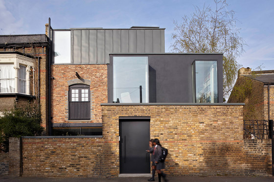 Sewdley Street de Giles Pike Architects | Maisons de deux appartements