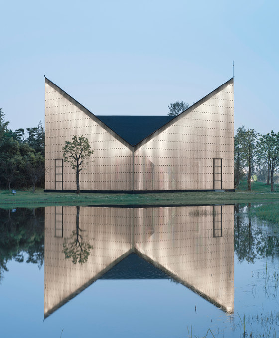 nanjing wanjing garden chapel by azl architects church architecture community centres - Garden Chapel